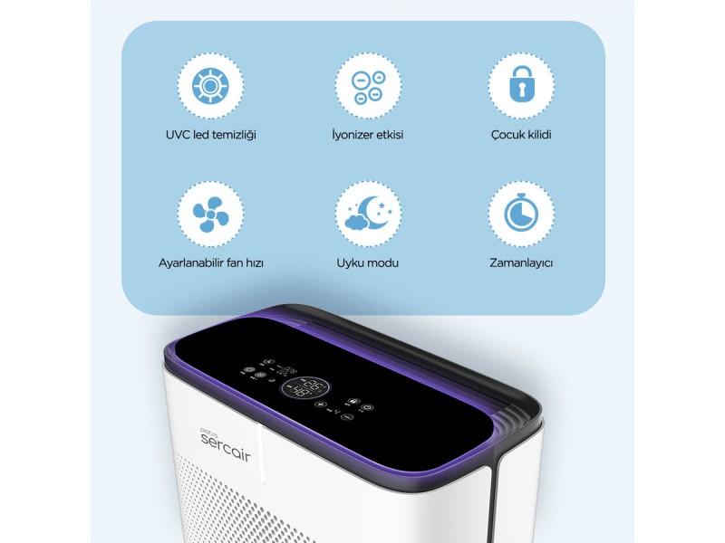 Akıllı UVC Hava Temizleme Cihazı Piatra
