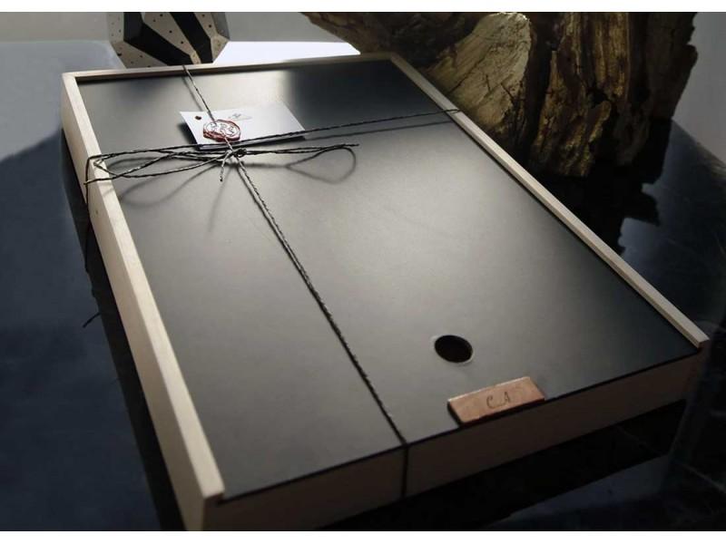 El Yapımı Deri A4 Defter Kılıfı