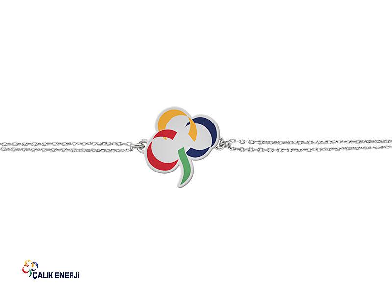 Corporate Custom Design Silver VIP Bracelet