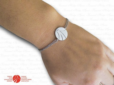 Corporate Custom Design Silver Bracelet