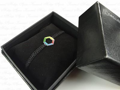 Custom Design Unisex Silver Bracelet