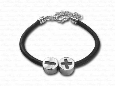 Corporate Custom Design Silver Bracelet