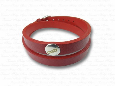 Custom Design Leather Bracelet