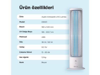 Free Standing Antiseptic UVC Lamp