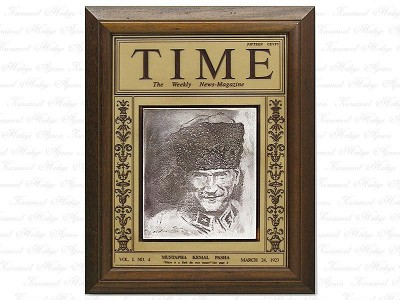 Ataturk Time Magazine Table