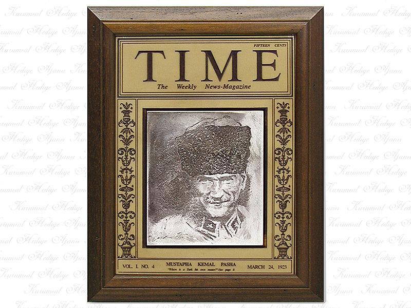 Ataturk Time Magazine Table