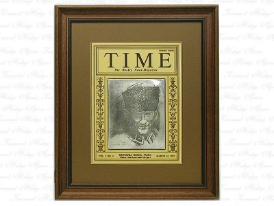 Ataturk Time Magazin Table