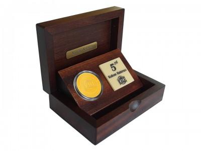 Custom Design Plaquet in Wooden Box