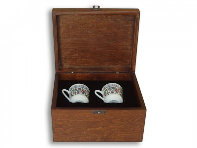 Authentic Design VIP Coffee Set in Wooden Box