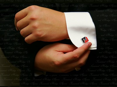 Custom Design Silver Cufflinks
