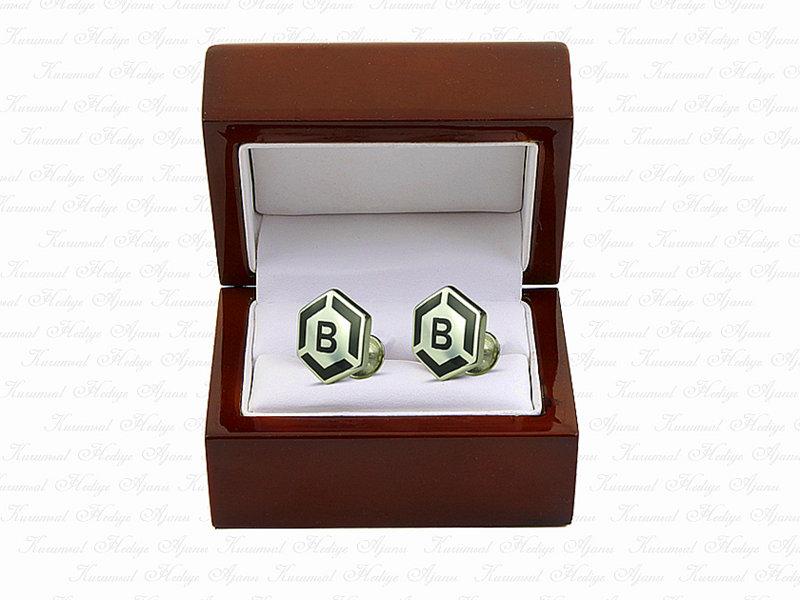 Custom Design Silver Cufflinks