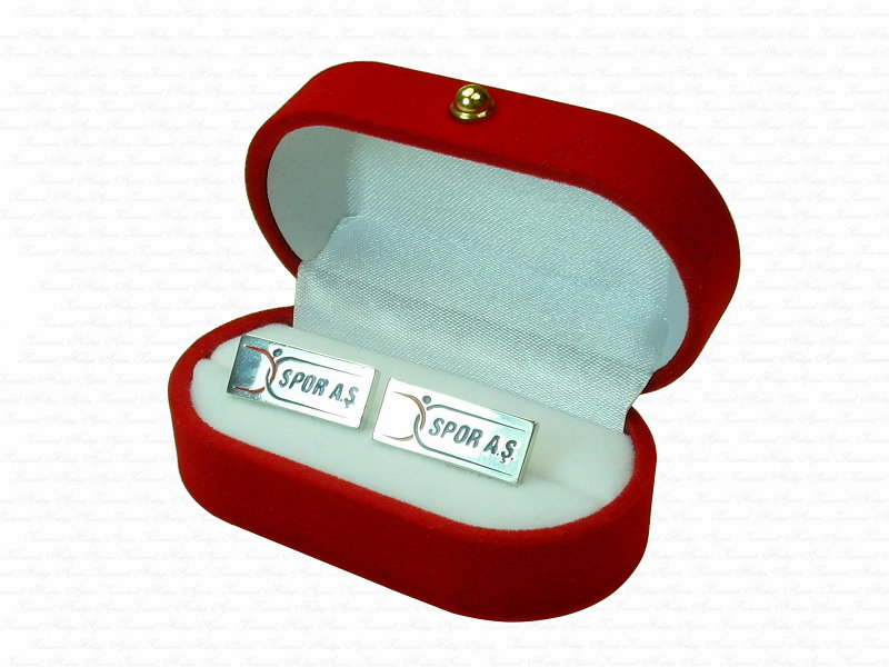 Corporate Custom Design Silver Cufflinks