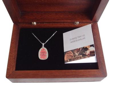 Corporate Design Silver Necklace