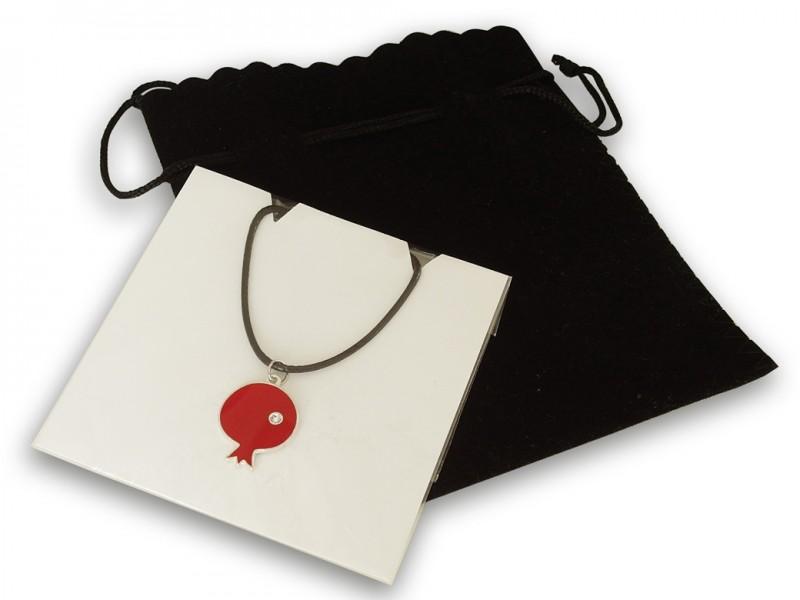 Pomegranate Themed Necklace