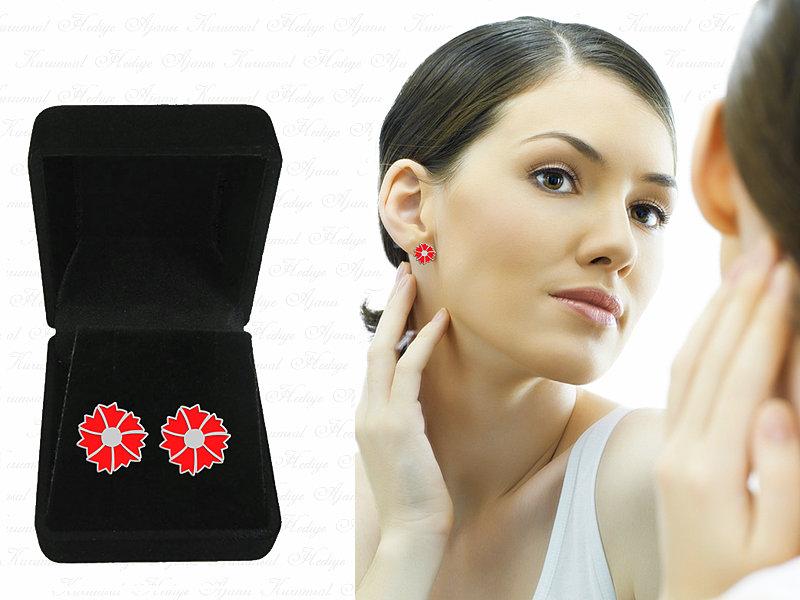Custom Design Silver Earrings