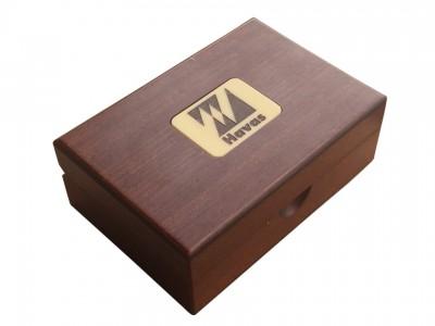 Solid Wooden Desktop Card Holder