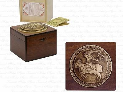 Zodiac Design Solid Wooden Box