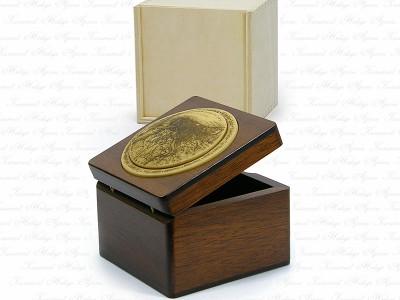 Bosphorus Themed Solid Wooden Box