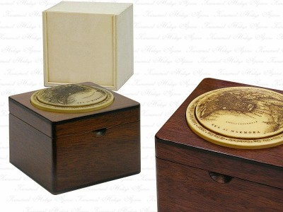 Bosphorus Themed Solid Wooden Box