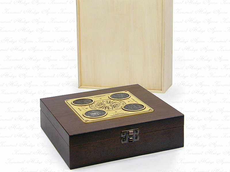 Solid Wooden Box Alexander The Great