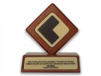 Custom Design Plaque Kibar Holding