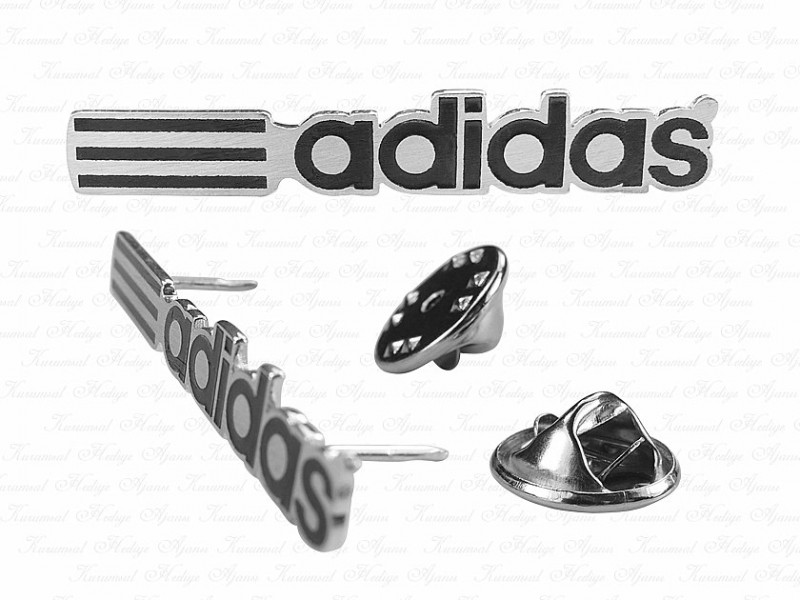 Corporate Custom Design Silver Pin