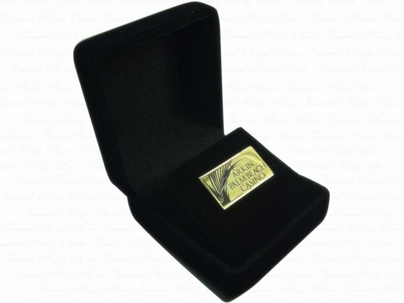 Corporate Custom Design Silver Pin