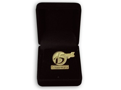 Corporate Design Golden Pin