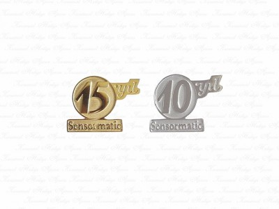 Corporate Design Golden Pin
