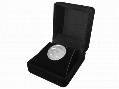 Custom Design Silver Pin