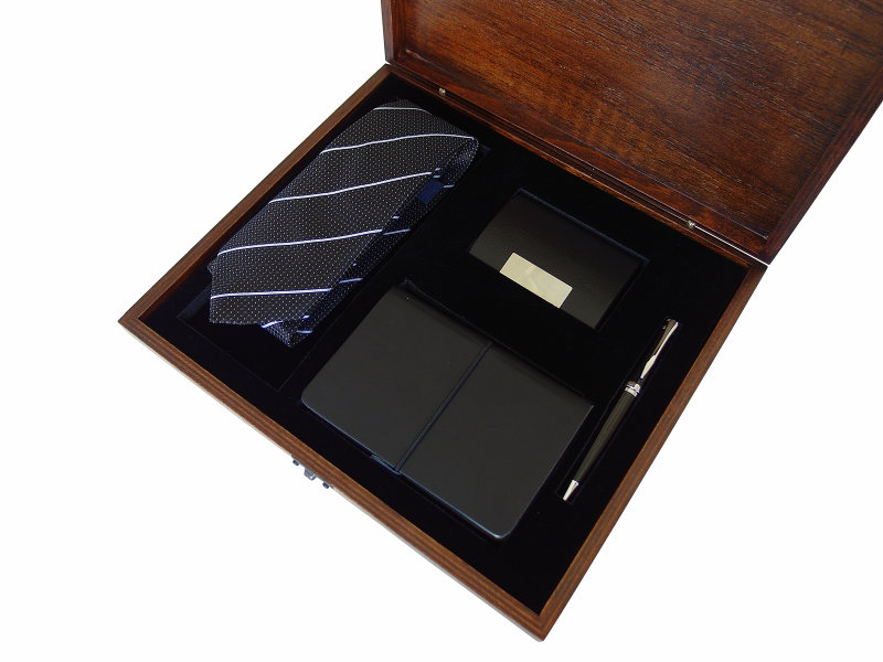 Gift Set for Men in Wooden Box