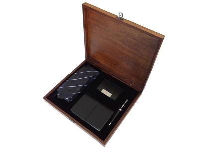 Gift Set for Men in Wooden Box