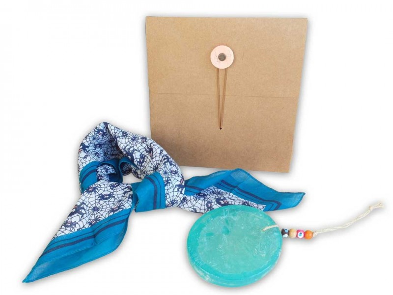 Gift Set with Scarf and Soap