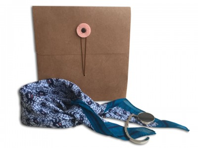 Gift Set with Scarf and Bag Hanger