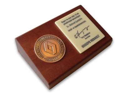 Seniority Award Plaquet Made for Renault