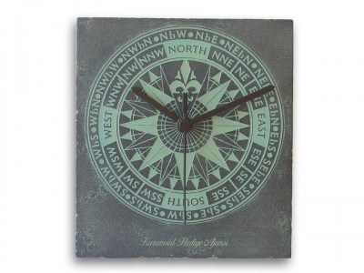 Custom Design Compass Clock
