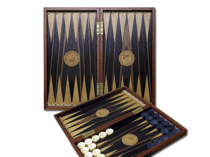 Custom Design Solid Wooden Backgammon