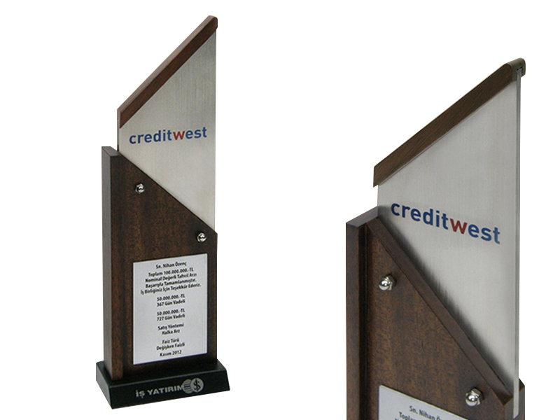 Custom Design Plaque Made for Bcreditwest