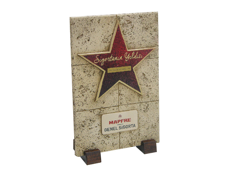 Plaque Made for Mapfre General Insurance