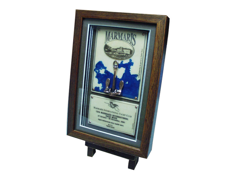Plaque Made for Marmaris Yacht Club