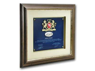 Custom Design Plaque Made for Philip Morris