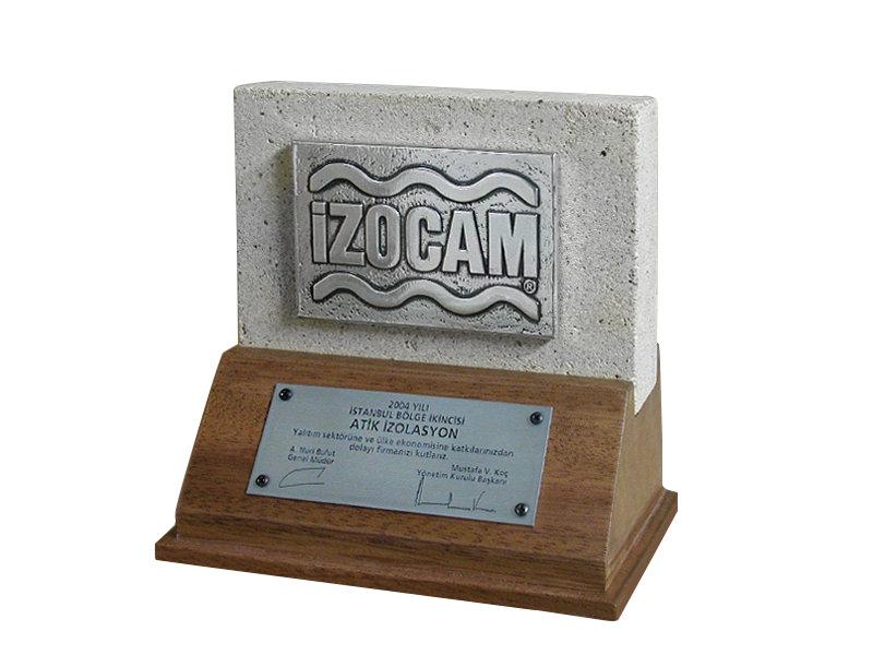 Custom Design Plaque Made for izocam
