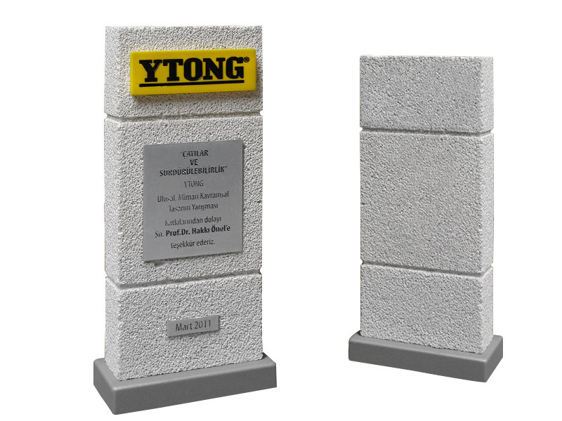 Custom Design Plaque Made for Ytong
