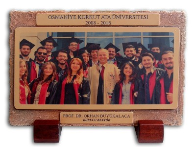 Custom Design Plaquet Made for Osmaniye