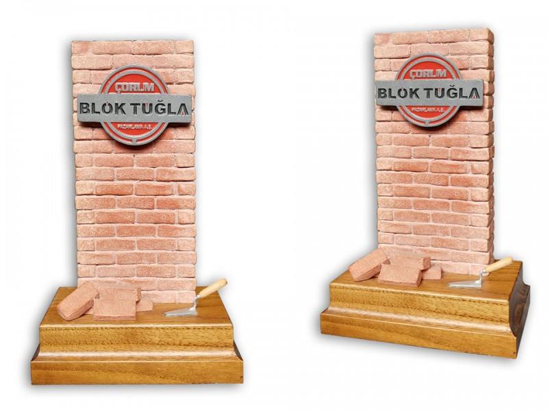 Custom Design Plaquet Made for Blok Tugla
