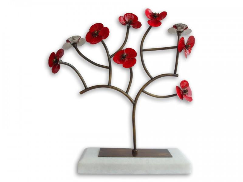 Handmade Poppy Flower