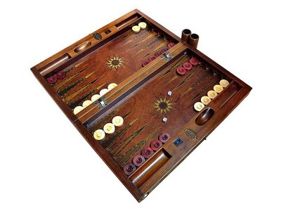 Handcrafted Wooden Backgammon