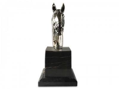 Silver Plated Decorative Horse Bibelot
