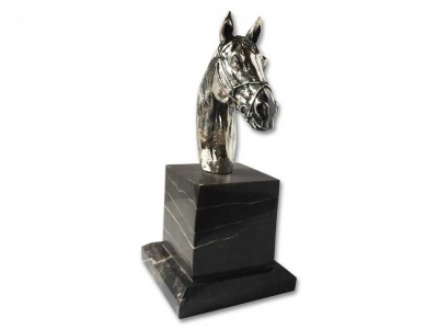 Silver Plated Decorative Horse Bibelot