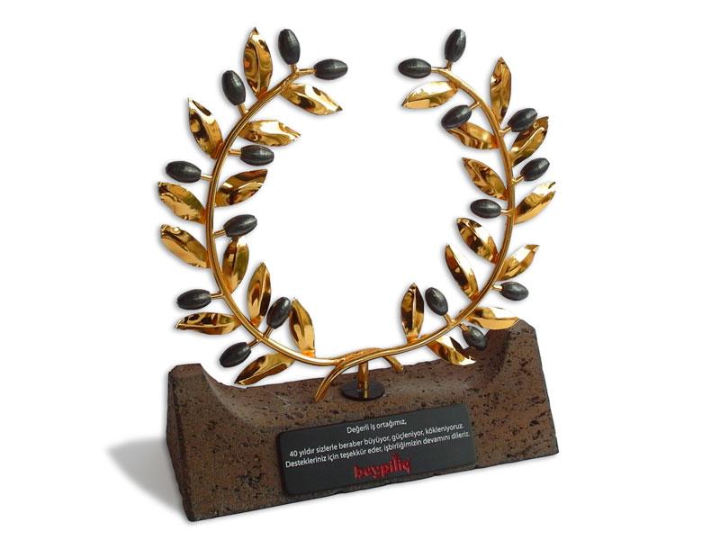 Custom Design Olive Branch Plaquet